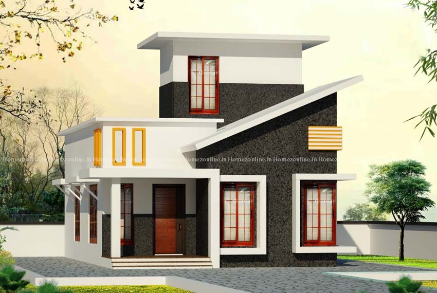 Modern single storey home design