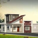 Small home elevation in 7 cent plot