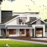 Alluring double storey home design