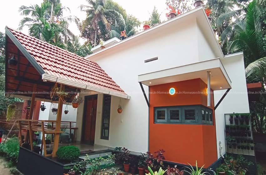 Beautiful low budget small house