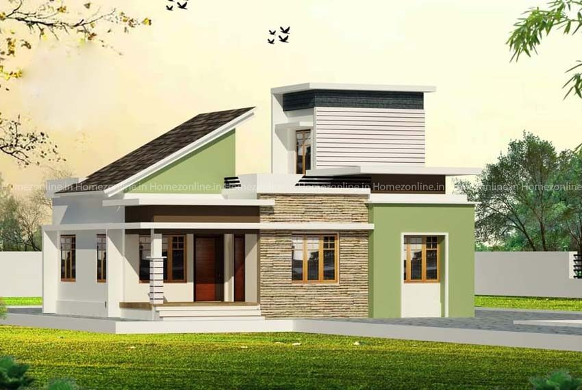 Bewitching 3 BHK single storey house