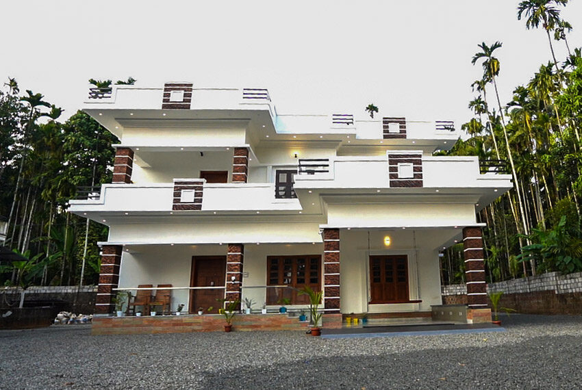 Brand new artistic double storey home design