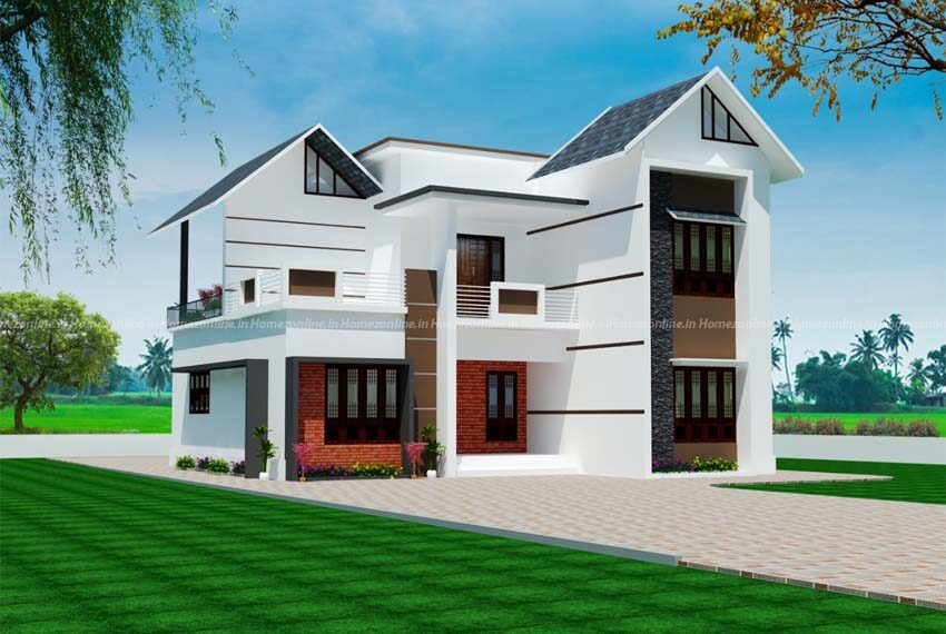 Double storey home with well looking exterior