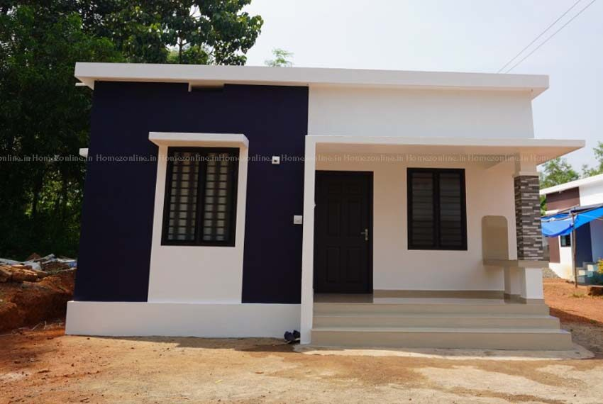 Graceful low budget single storey home