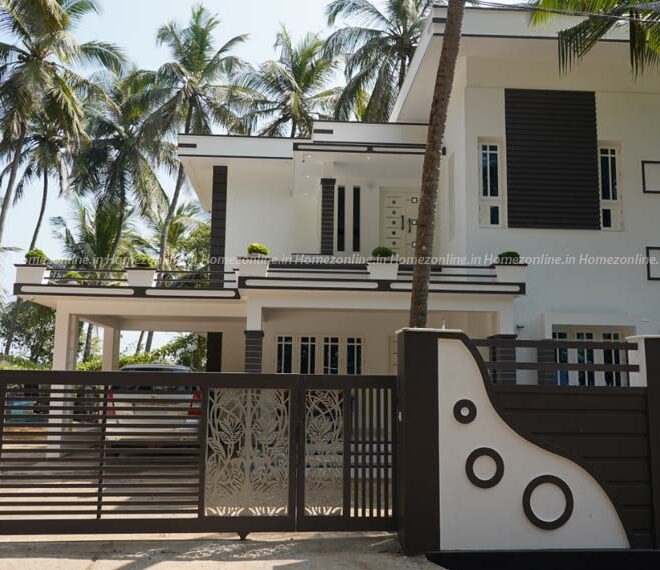 Modern budget friendly double storey house