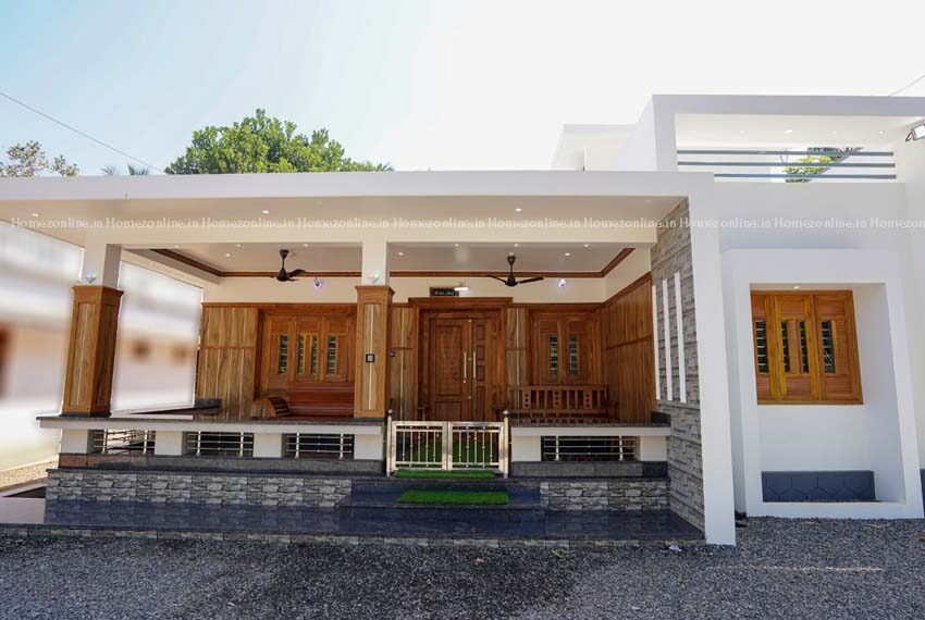 Small and low budget single storey home