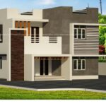 3 Bhk home design on aesthetic exterior