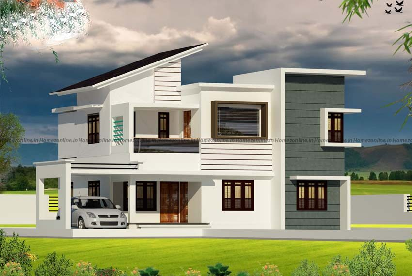 4 bedroom home design with amazing exterior