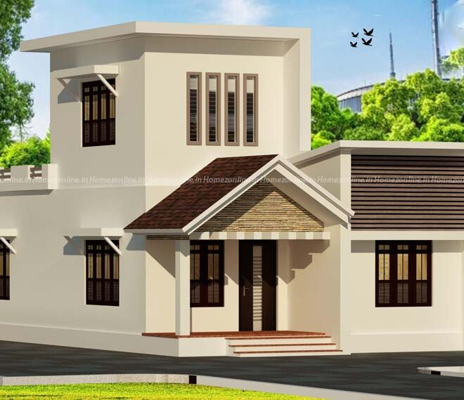 Best 2 bhk small house design