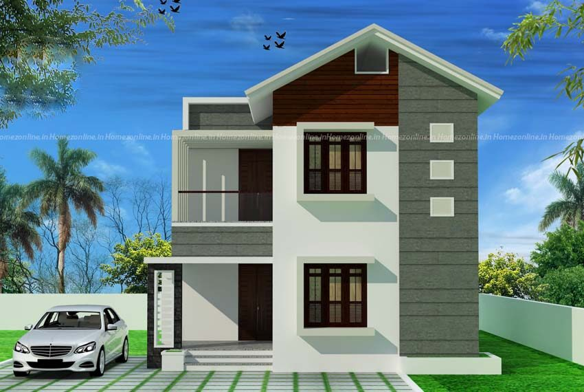 Comely designed 3 bhk home