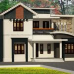 Contemporary two storey home with fine exterior