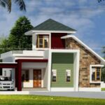Fascinating 3 BHK home design