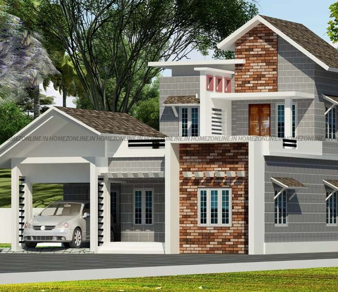New brand double storey home in 1700 sq ft