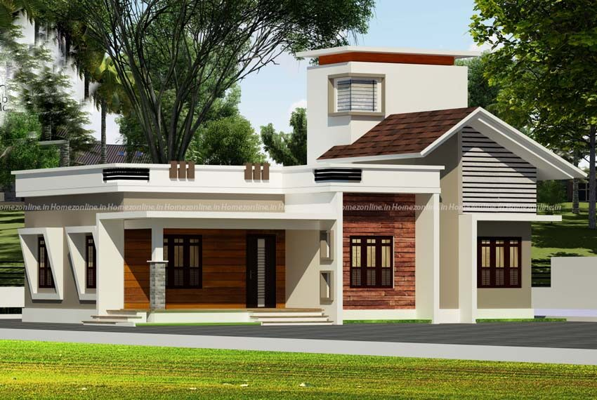 Single floor home on pleasing exterior