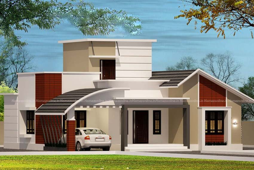 1000 sq ft home design with amazing exterior