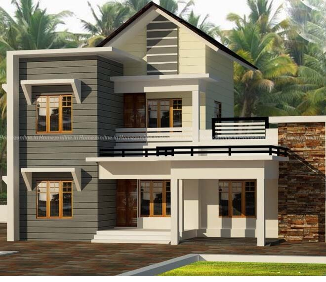 Trending duplex home design