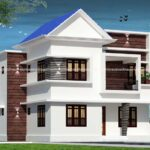 Duplex home design with bewitching exterior