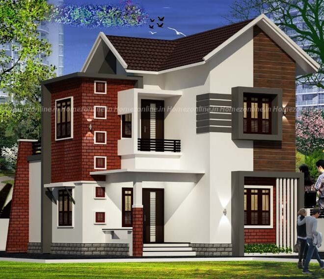 Glorious two level home design