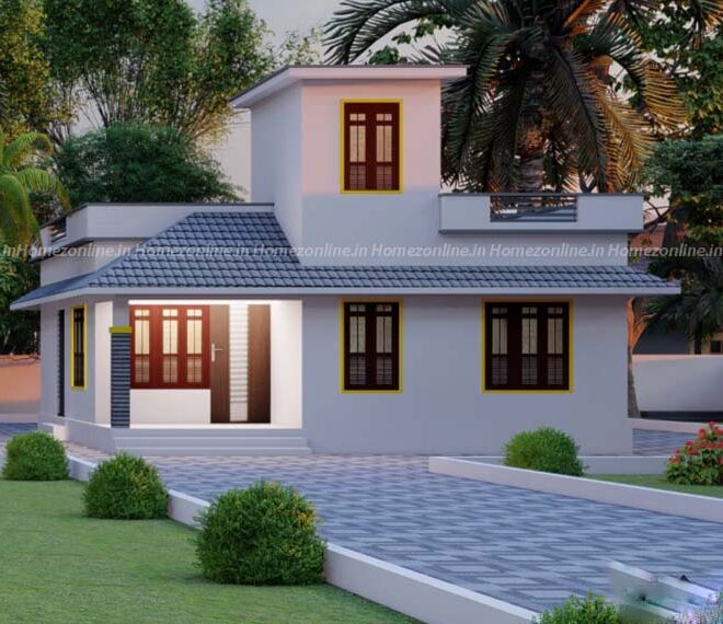 Simple and beautiful small home design