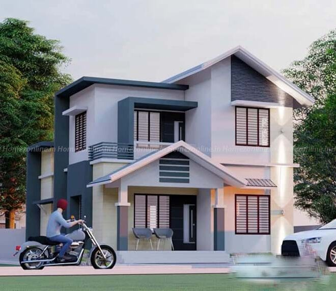 Double storey home with pleasing exterior