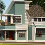 Duplex home designed with splendid out look