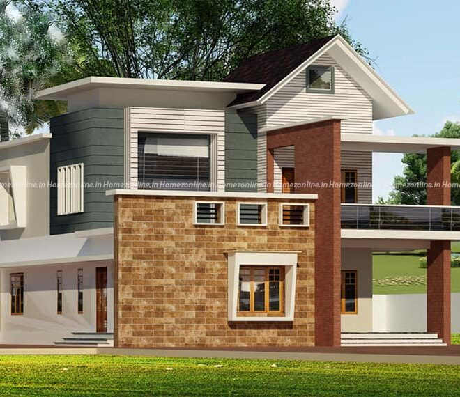Fabulous duplex home with best exterior look