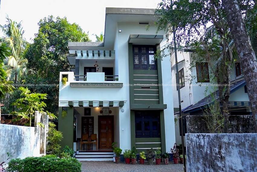 New budget spacious double storey house