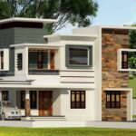 Variety exterior home design on double storey