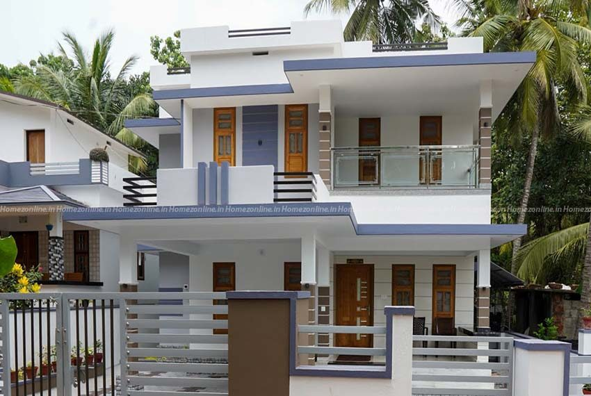 Double storey home with delightful exterior