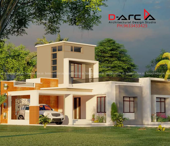 Single floor home with admirable design
