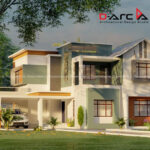 Best double storey home with attractive exterior design