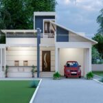 Small home design with alluring exterior
